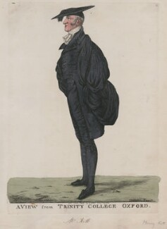 Henry Kett ('A view from Trinity College, Oxford'), by and published by Robert Dighton - NPG D13279