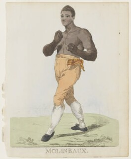 Tom Molineaux ('Molineaux'), by and published by Robert Dighton, published January 1812 - NPG  - © National Portrait Gallery, London