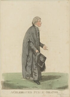 William Crowe ('A celebrated public orator'), by and published by Robert Dighton - NPG D13323