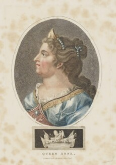 Queen Anne, by John Chapman, after  Unknown artist - NPG D13555