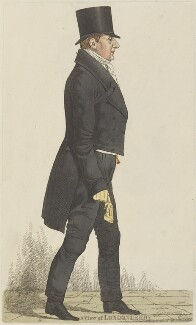 Robert Stewart, 2nd Marquess of Londonderry (Lord Castlereagh), by and published by Richard Dighton - NPG D13339