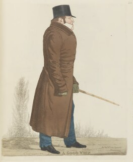 William Philip Molyneux, 2nd Earl of Sefton ('A good whip'), by and published by Richard Dighton, reissued by  Thomas McLean - NPG D13348