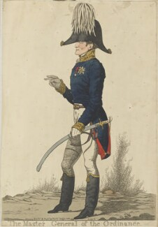 Arthur Wellesley, 1st Duke of Wellington ('The Master General of the Ordinance'), by and published by Richard Dighton - NPG D13354