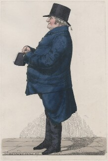 Levi Barent Cohen or Mr Ripley, by and published by Richard Dighton - NPG D13366