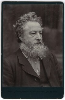 William Morris, by Sir Emery Walker - NPG x3730