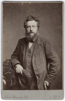 William Morris, by London Stereoscopic & Photographic Company, 14 March 1877 - NPG  - © National Portrait Gallery, London