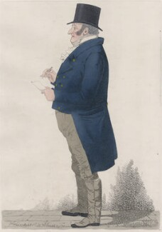 William Mellish, by and published by Richard Dighton - NPG D13374