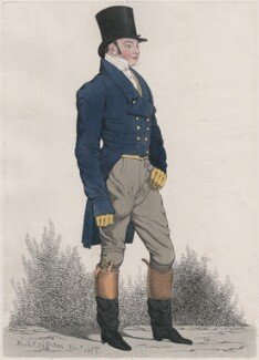 Mr Lowe, by and published by Richard Dighton - NPG D13378