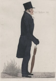 Thomas Tooke ('A near guess'), by and published by Richard Dighton - NPG D13379