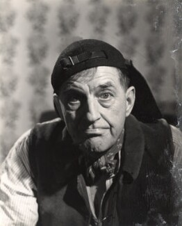 Stanley Holloway as Alfred Dolittle in 'My Fair Lady', by Noel Mayne, for  Baron Studios - NPG x125574