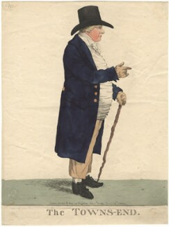 John Townsend ('The Towns-end'), by and published by Robert Dighton - NPG D13419
