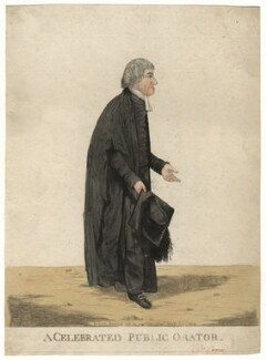 William Crowe ('A celebrated public orator'), by and published by Robert Dighton - NPG D13435