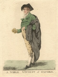 George Nugent Grenville, Baron Nugent ('A noble student of Oxford'), by and published by Robert Dighton - NPG D13440