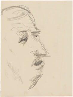 Charles André Marie Joseph de Gaulle, by Henryk Gotlib - NPG D13563