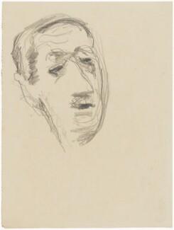 Charles André Marie Joseph de Gaulle, by Henryk Gotlib - NPG D13564