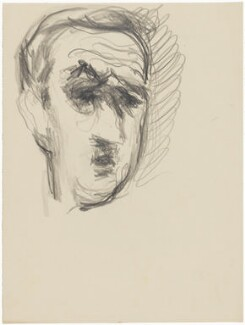 Charles André Marie Joseph de Gaulle, by Henryk Gotlib - NPG D13565