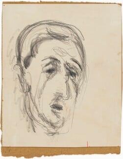 Charles André Marie Joseph de Gaulle, by Henryk Gotlib - NPG D13568