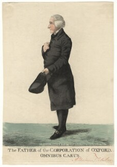 William Fletcher ('The father of the Corporation of Oxford. Omnibus Carus'), by and published by Robert Dighton, published March 1808 - NPG D13448 - © National Portrait Gallery, London