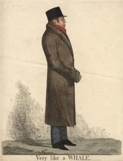 Mr Hilbers ('Very like a whale'), by and published by Richard Dighton - NPG D13497