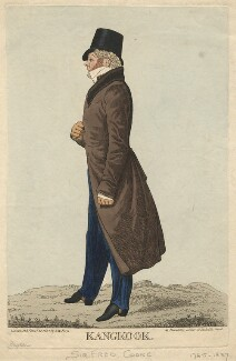 Sir Henry Frederick Cooke ('Kangkook'), by William Staden Blake, published by  Samuel William Fores, after  Richard Dighton - NPG D13509