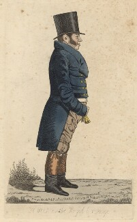 Richard Thornton ('A view on the Royal Exchange'), by and published by Richard Dighton - NPG D13533