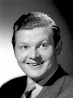 Benny Hill, by Count Zichy (Count Theodor Zichy), for  Baron Studios, 1954 - NPG x125592 - © National Portrait Gallery, London