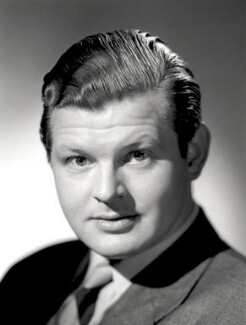 Benny Hill, by Count Zichy, for  Baron Studios - NPG x125593