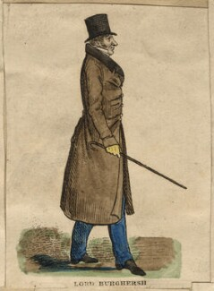 John Fane, 11th Earl of Westmorland, by Richard Dighton, published by  Thomas McLean - NPG D13636