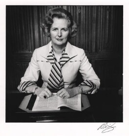 Margaret Thatcher, by David Bailey - NPG x125612