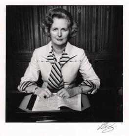 Margaret Thatcher, by David Bailey, 1975 - NPG x125612 - © David Bailey