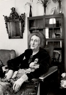 Edith Sitwell, by Derek Parker - NPG x125616