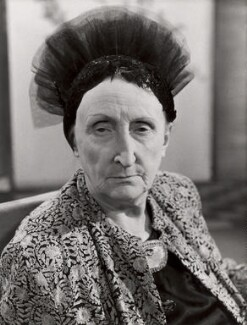 Edith Sitwell, by BBC - NPG x125617