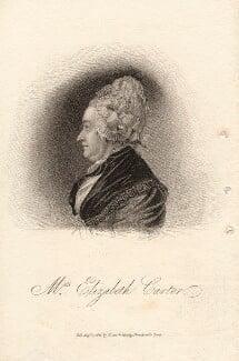 Elizabeth Carter, published by Dean & Munday, after  Joachim Smith, published 1 August 1821 - NPG D13647 - © National Portrait Gallery, London