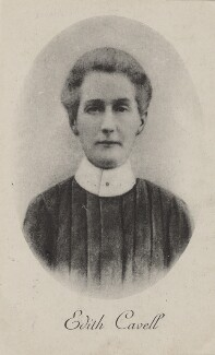Edith Cavell, by Unknown photographer - NPG x4185