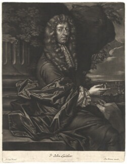 Sir John Lowther, 2nd Bt, published by Alexander Browne, after  Sir Peter Lely - NPG D13671