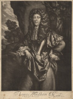 Thomas Windham, published by Richard Tompson, after  Sir Ralph Cole - NPG D13673