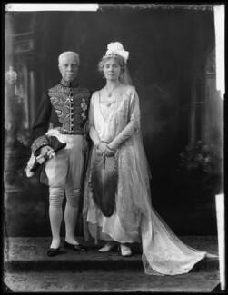 Sir Thomas Little Heath; Ada Mary (née Thomas), Lady Heath, by Bassano Ltd - NPG x121686