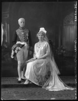 Sir Thomas Little Heath; Ada Mary (née Thomas), Lady Heath, by Bassano Ltd - NPG x121688