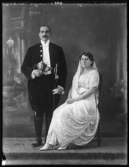 Sir Dhunjibhoy Bomanji; Lady Dhunjibhoy Bomanji, by Bassano Ltd - NPG x121708