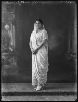 Lady Dhunjibhoy Bomanji, by Bassano Ltd - NPG x121710