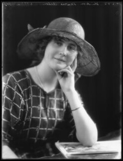 Hon. Marie Immaculée Antoinette Woodruff (née Lyon-Dalberg-Acton), by Bassano Ltd - NPG x121723