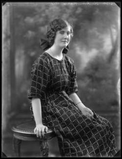 Hon. Marie Immaculée Antoinette Woodruff (née Lyon-Dalberg-Acton), by Bassano Ltd - NPG x121724