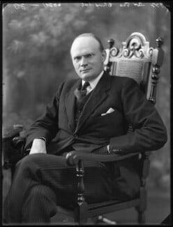 Sir George William Chrystal, by Bassano Ltd - NPG x121733