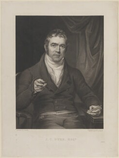 Joseph Chessborough Dyer, by Edward Scriven, after  Joseph Allen - NPG D13679