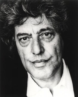 Tom Stoppard, by Carolyn Djanogly - NPG x125651