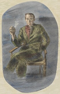 Eric Newton, by Barnett Freedman - NPG 6622