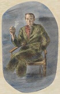 Eric Newton, by Barnett Freedman, 1943 - NPG 6622 - © National Portrait Gallery, London