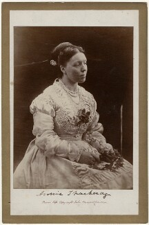 Anne Isabella (née Thackeray), Lady Ritchie, by Julia Margaret Cameron - NPG x18047