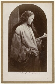 'The Guardian Angel' (Hatty Campbell), by Julia Margaret Cameron - NPG x18034