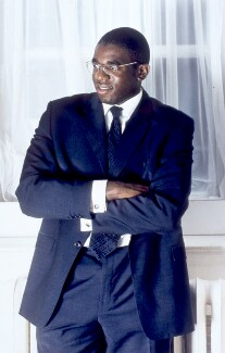 David Lammy, by Sal Idriss, 2002 - NPG  - © Sal Idriss / National Portrait Gallery, London